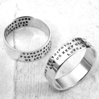 Three Line Posey Ring personalized ring in by KathrynRiechert