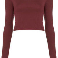 Long Sleeve Crop Tee - Jersey Tops  - Clothing