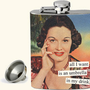 Anne Taintor - Flasks / all I want is an umbrella in my drink