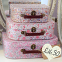 Ditsy Floral Suitcases — Dear Blackbird Homewares