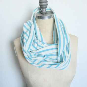 Jersey Infinity Circle Scarf Light Weight by SevenWhiteRabbits
