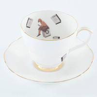 Ali Miller London — tea cup and saucer - 40 degrees