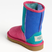 UGG® Australia 'Classic Short - Patchwork' Boot (Walker, Toddler, Little Kid & Big Kid) | Nordstrom