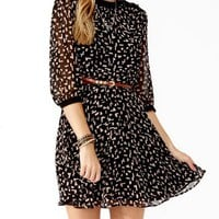 Geometric Print Daytime Dress | FOREVER 21 - 2000049196