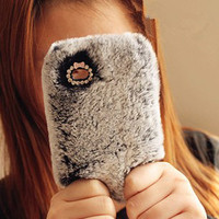 Fluffy Fur Iphone Case For Iphone 4.. on Luulla
