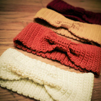 Crochet Headband Earwarmer on Luulla