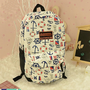 Cute Anchor Backpack Bag  on Luulla