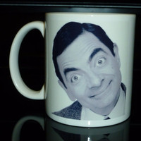 Coffee Mug  Mr Bean Johnny English Custom by CreateItYourWay