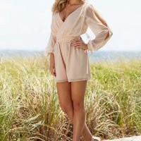 Sexy Open sleeve romper from VENUS/shoes