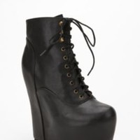 Jeffrey Campbell Solid Leather Damsel Boot