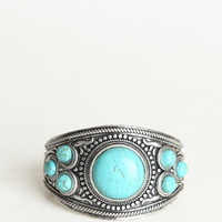 Zilin Turquoise Bracelet - &amp;#36;25.00 : ThreadSence.com, Your Spot For Indie Clothing &amp; Indie Urban Culture