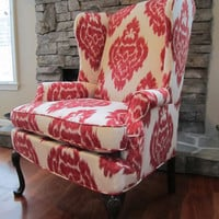 Wingback Chair  'Spiced' by Urbanmotifs on Etsy