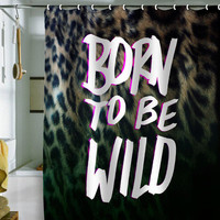 DENY Designs Home Accessories | Leah Flores Born To Be Wild Shower Curtain
