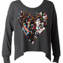 Rainbow Heart Long Sleeve