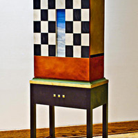 Teachers Pet: Meg Romero: Wood Cabinet - Artful Home