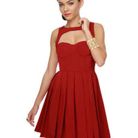 BB Dakota Kassia Dress - Red Dress