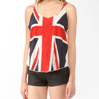 Union Jack Racerback Tank