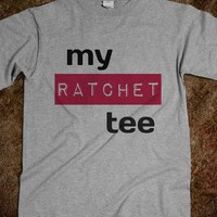 My Ratchet Tee - peace, love, rubber gloves.