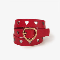 Cutout Hearts Hip Belt