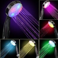 Amazon.com: 7 COLOR LED SHOWER HEAD ROMANTIC LIGHTS WATER HOME BATH - Xmas day: Home &amp; Kitchen