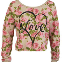 Floral Love Sweatshirt