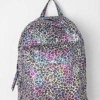 Leopard Metallic Fleck Backpack