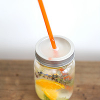 16 oz. Mason Jar Tumbler - Travel Jar - Smoothie Tumbler - Eco Gift