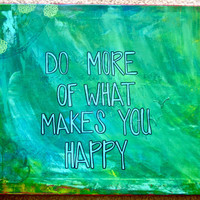16x20 Happiness Painting by meghansimonett on Etsy