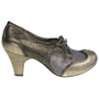 Rumple Snakeskin | Irregular Choice