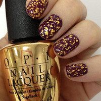 OPI, The Man With The Golden Gun 18ct Top Coat. Free 1st Class, 25.99