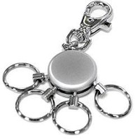 Lexon Design Patent Multi-Keyring with 4 Rings