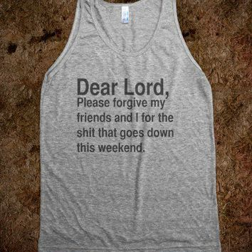 Dear Lord.. - T-Shirts By Stace