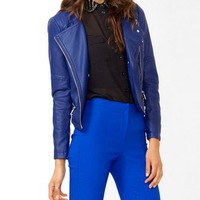 Womens leather jacket, bomber jacket and leather coats | shop online | Forever 21 -  2040484121