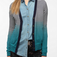 Staring At Stars Dip-Dye Stripe Cardigan