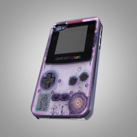 Nitendo purple game boy Design - iPhone 4 iPhone 4S iPhone 5 Case ( Black / White )