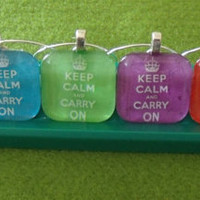Keep Calm and Carry On Drinking rainbow coloured by CattsPyjamas
