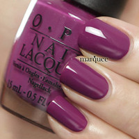 OPI Nail Polish (E50-Pamplona Purple) *NEW*HOT* Espana Collection