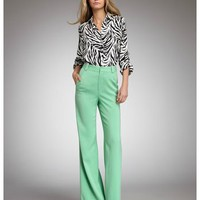 Alice & Olivia Wide-Leg Pants