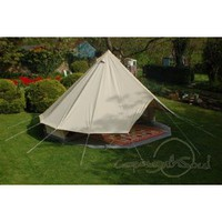 5m Bell Tent with Separate Groundsheet: Amazon.co.uk: Sports & Outdoors