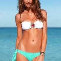 Ruffled Side-tie Bikini Bottom
