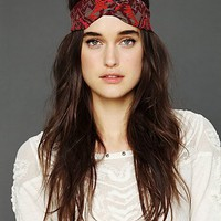 Free People Beaded Ikat Wideband