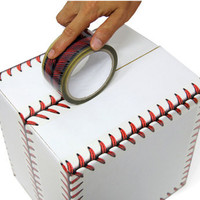 Baseball stitches design tape set