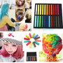 Hair Colors DIY Hair Chalk Pastels Box Temporary Dye color Salon Kit