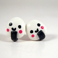 Onigiri Stud Earrings