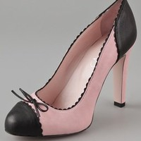 RED Valentino Two Toned Pumps