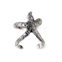 Women&#x27;s Trendy Exquisite Vintage Starfish Ring Xmas Gift