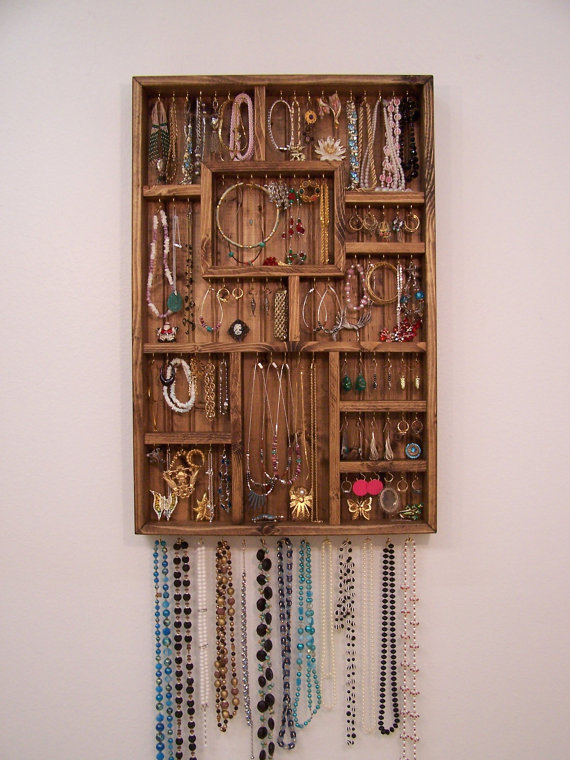 Woodwork Wooden Earring Rack Wall Pdf Plans