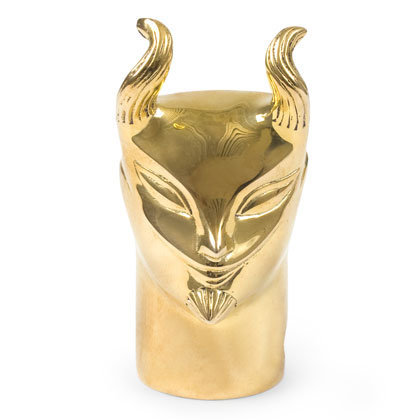 Brass Devil Pencil Sharpener