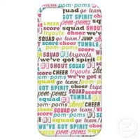 Cheerleading Sayings  iphone 5 barely there case iPhone 5 Case from Zazzle.com