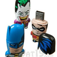 Officially licensed Batman, Robin, and Joker USB Flash Drives